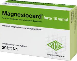 Magnesiocard® forte 10 mmol