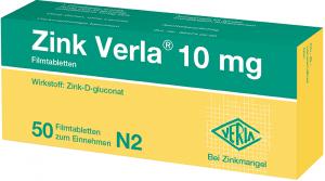 Zink Verla® 10 mg