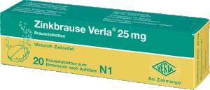 Zinkbrause Verla® 25 mg
