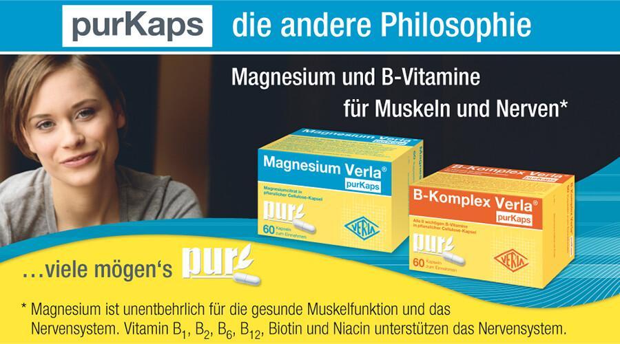 Magnesium und B-Vitamine individuell kombinieren für Muskeln & Nerven