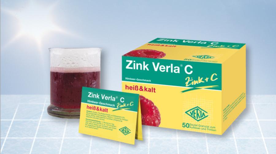 Zink Verla® C: Jetzt auch als Familienpackung erhältlich